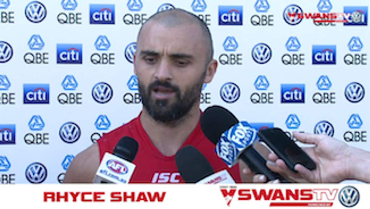 SwansTV: Rhyce Shaw press conference